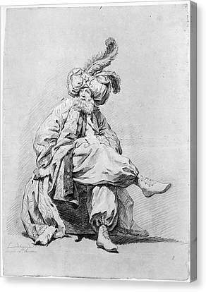 Vien Costume Study, 1748 Canvas Print by Granger