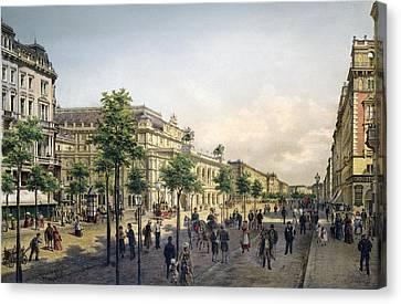 Vienna Opera, 1880s Canvas Print by Granger