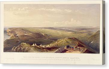View Above Balaklava Canvas Print by British Library