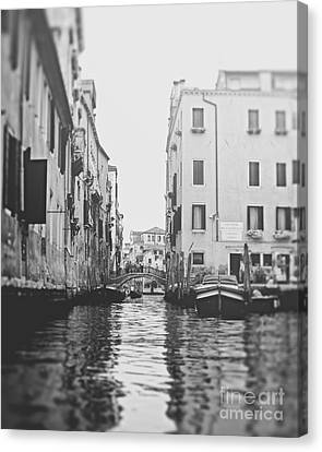Waters Of Venice Canvas Print by Ivy Ho