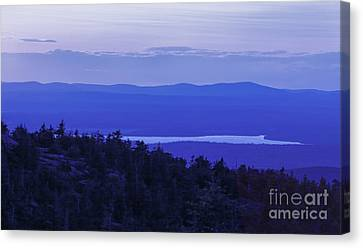 View From Cadillac Mountain Canvas Print by Diane Diederich