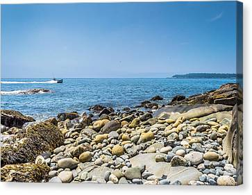 View From Lane's Island Vinalhaven Canvas Print by Tim Sullivan