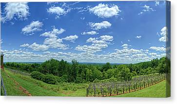 View From Monticello Canvas Print by Metro DC Photography