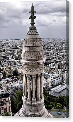 View From Montmartre Canvas Print by Nikolyn McDonald