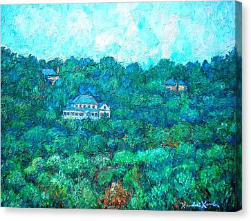 View From Rec Center Canvas Print by Kendall Kessler