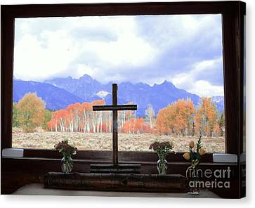 View From The Inside Canvas Print by Kathleen Struckle