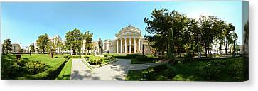 View Of A Concert Hall, Romanian Canvas Print by Panoramic Images
