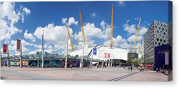 View Of Concert Hall, The O2 Canvas Print by Panoramic Images