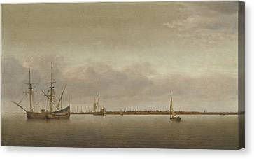 View Of Hoorn Canvas Print by Celestial Images