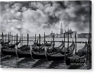 View Of San Giorgio Maggiore Venice Canvas Print by Design Remix