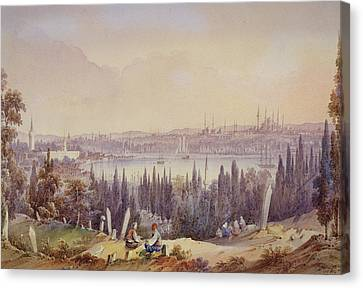 View Of The Golden Horn, C.1840 Canvas Print by English School