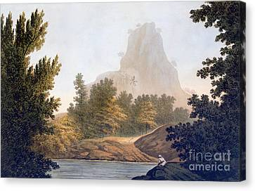 View Of The Jungle Canvas Print by William Hodges