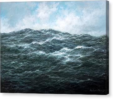 View Canvas Print by Richard Willis