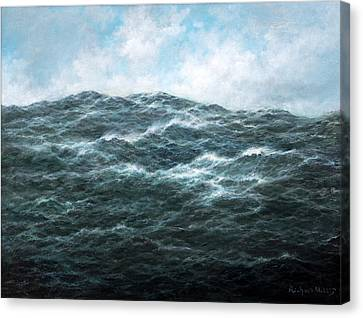View Canvas Print by Richard Willis