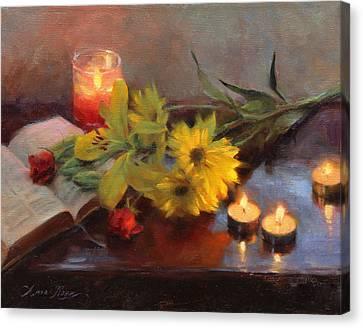 Vigil Canvas Print by Anna Rose Bain
