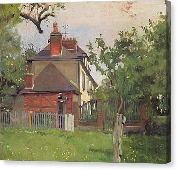 Villa Beaulieu Honfleur Canvas Print by Felix Edouard Vallotton