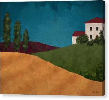 Villa I Canvas Print by April Moen