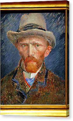 Vincent Van Gogh. Canvas Print by Vincent Van Gogh