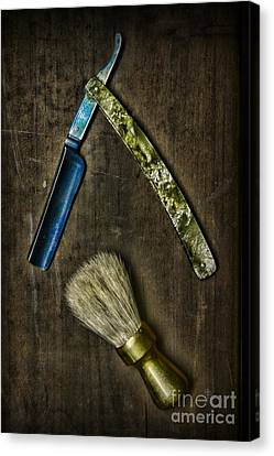 Vintage Barber Tools Canvas Print by Paul Ward