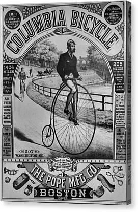 Vintage Bike Canvas Print by Dan Sproul