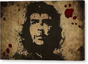 Vintage Che Canvas Print by Gianfranco Weiss