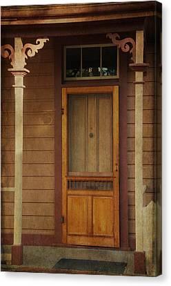 Vintage Doorway Canvas Print by Marilyn Wilson