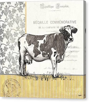Vintage Farm 1 Canvas Print by Debbie DeWitt