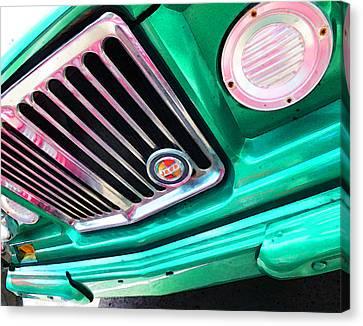 Vintage Jeep - J3000 Gladiator By Sharon Cummings Canvas Print by Sharon Cummings
