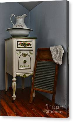 Vintage Laundry And Wash Room Canvas Print by Paul Ward