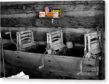 Vintage Laundry Canvas Print by Deniece Platt