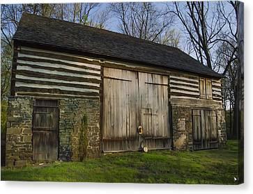 Vintage Pennsylvania Barn Canvas Print by Bill Cannon