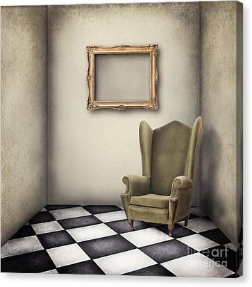 Vintage Room Canvas Print by Jelena Jovanovic
