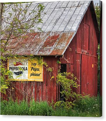 Vintage Sign Canvas Print by Bill Wakeley