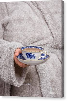Vintage Teacup Canvas Print by Amanda And Christopher Elwell