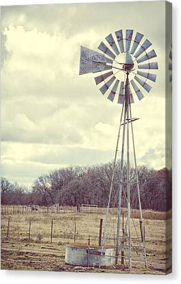 Vintage Texas  Canvas Print by Kimberly Danner