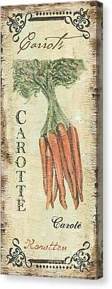 Vintage Vegetables 4 Canvas Print by Debbie DeWitt