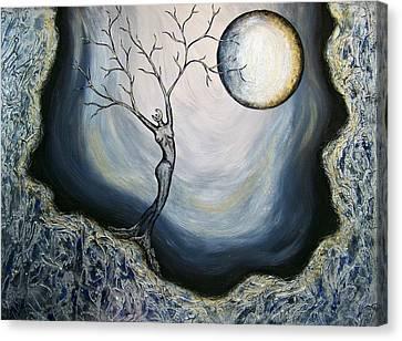 Vinternatt Canvas Print by Sylvia Sotuyo