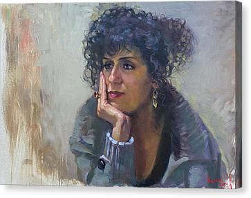 Viola Canvas Print by Ylli Haruni