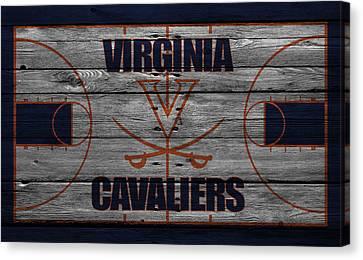 Virginia Cavaliers Canvas Print by Joe Hamilton