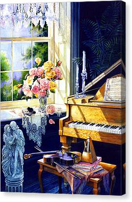 Virginia Waltz Canvas Print by Hanne Lore Koehler