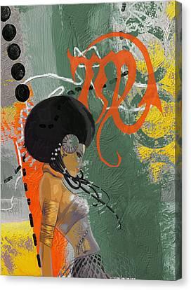 Virgo - B Canvas Print by Corporate Art Task Force