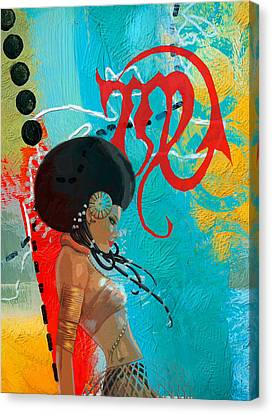 Virgo Canvas Print by Corporate Art Task Force