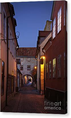 Visby Evening  Canvas Print by Ladi  Kirn