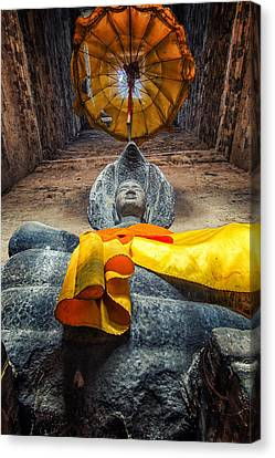 Vishnu  Canvas Print by Stelios Kleanthous