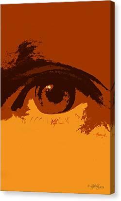 Vision Canvas Print by Skip Tribby