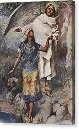 Visitation Canvas Print by William Sewell