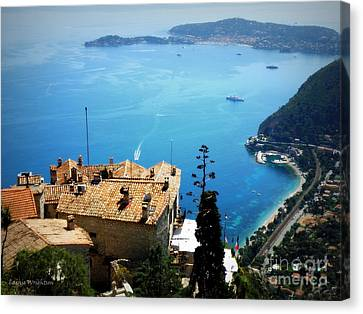 Vista From Eze Canvas Print by Lainie Wrightson