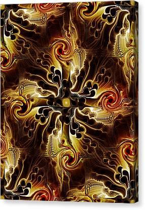 Vital Cross Canvas Print by Anastasiya Malakhova