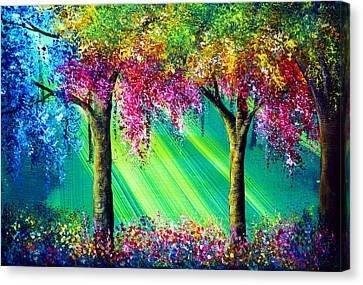 Vivacious Canvas Print by Ann Marie Bone