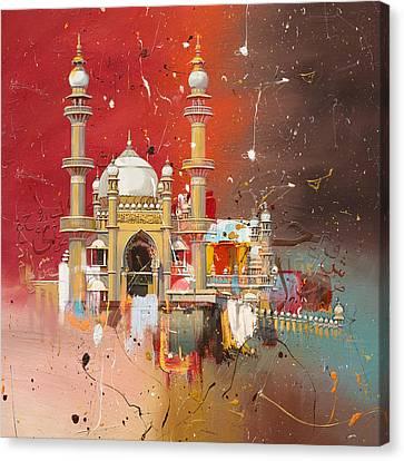Vizhinjam Mosque Canvas Print by Corporate Art Task Force